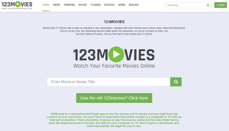 123Movies - Good Choice as Putlockers Backup