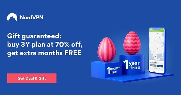 NordVPN Easter Promo